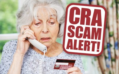 WARNING: New CRA Phone Scam!